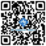 AJ Computer Repair QR Code